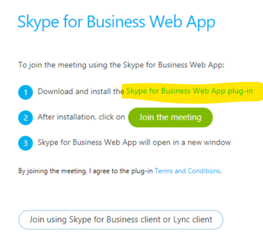 how to join a skype meeting