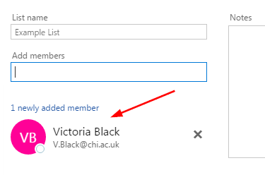 Creating an email contact group in Office 365 | Support and