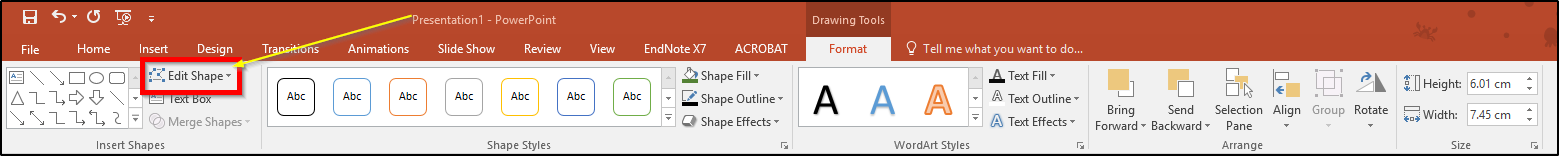 PowerPoint - How to add shapes and customise them | Support
