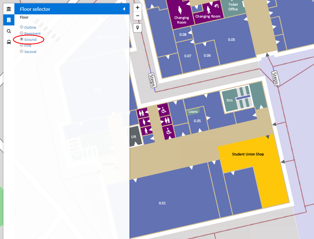 Campus maps and Android mobile app | Support and Information Zone on