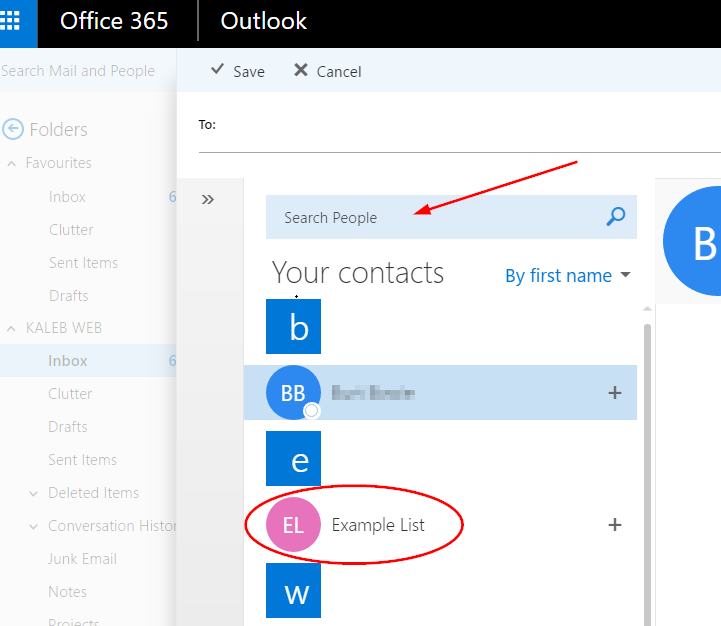 Creating An Email Contact Group In Office 365