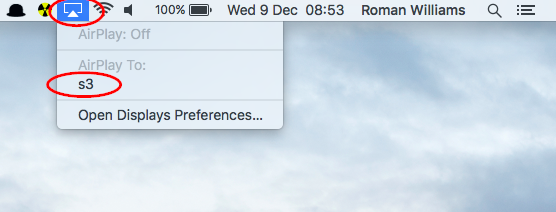 Mirroring your Apple Mac (over wi-fi) | Support and