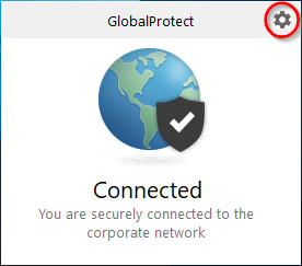 VPN settings window.